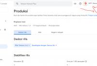 Dasbor rilis untuk update aplikasi di google play