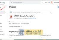 Pilih Penyiapan di Dasbor Apilkasi - Cara Hapus Aplikasi di Play Store